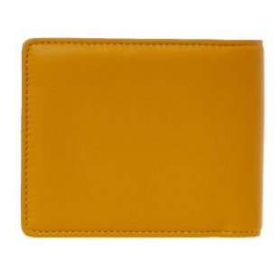 Classic Billfold Wallet – Yellow