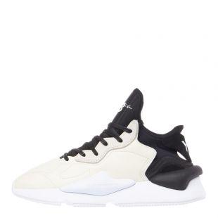 y-3 kaiwa trainers EF2546 white / black