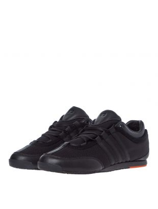 Boxing Trainers - Black / Orange