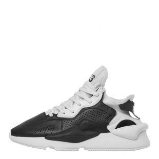 y-3 kaiwa trainers EH1398 black / white