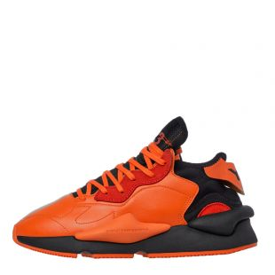 y-3 kaiwa trainers EF7523 orange / black