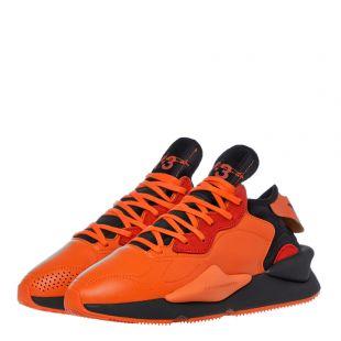 Kaiwa Trainers - Orange / Black