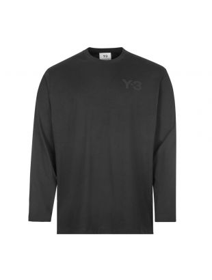 Y3 Long Sleeve T-shirt , FN3361 Black , Aphrodite 1994