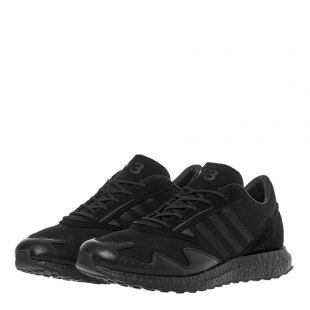 Rhisu Run Trainers - Black
