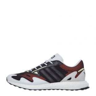 y-3 rhisu run trainers FU9180 black / white