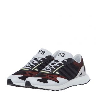Rhisu Run Trainers - Black / White