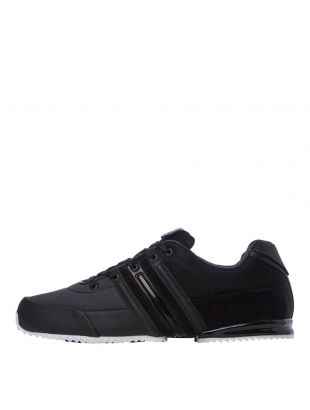 y3 sprint trainers S82114 black / white