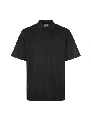Y3 Polo shirt , FN3355 Black , Aphrodite 1994