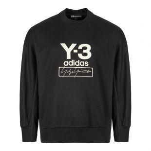 Y3 Stacked Sweatshirt FJ0432 In Black At Aphrodite Clothing