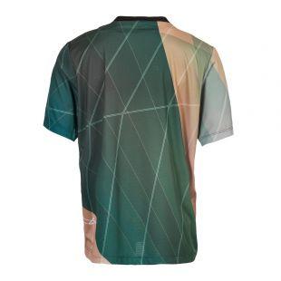 T-Shirt - Green/Pink