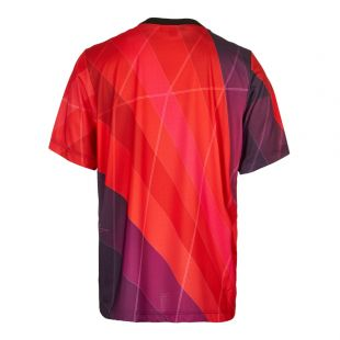 Football Top - Red/Purple