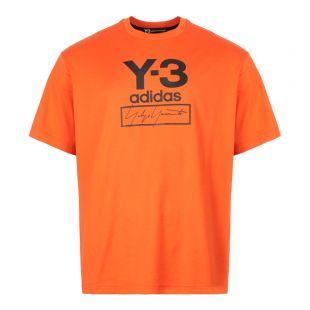 Stacked T-Shirt - Icora Orange