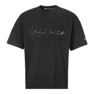 y3 t-shirt | FQ4114 black
