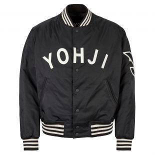 y-3 varsity jacket FJ0321 black