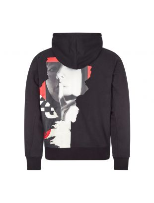 Hoodie CH1 Graphic - Black