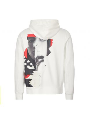 Hoodie CH1 Graphic - White