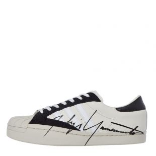 Y3 Yohji Star Trainers | EH2267 White / Black