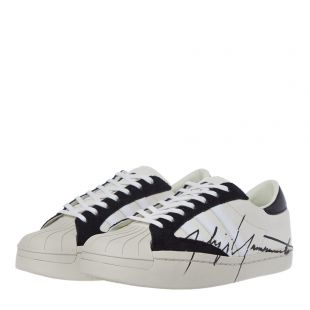 Yohji Star Trainers - White / Black