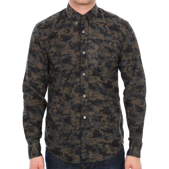Our Legacy 1940s Shirt in Black Mold