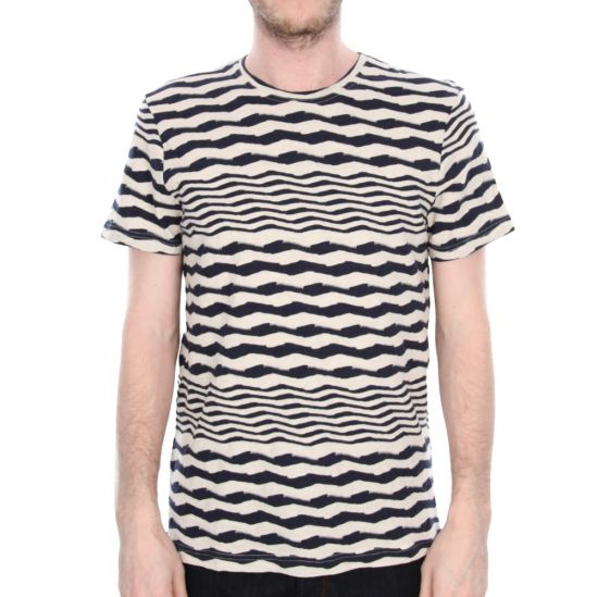 oliver spencer t shirt oatmeal scar