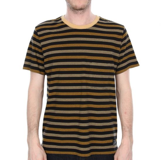 Paul Smith Stripe T-Shirt in Black