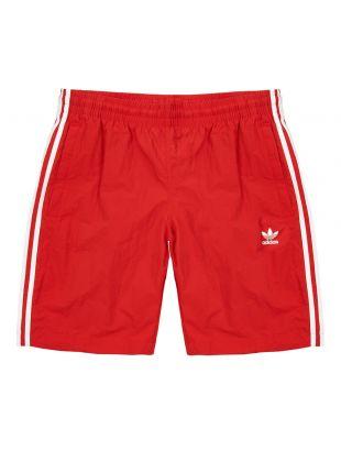 adidas Originals Swim Shorts DV1585 Red