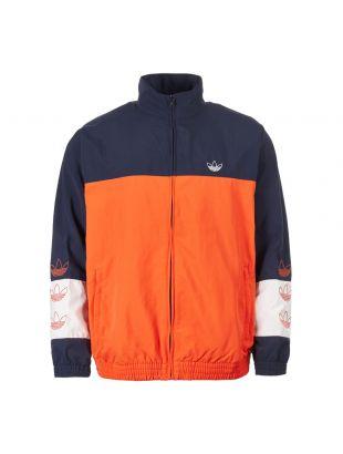 adidas originals tracktop Blocked Warm Up DV3117 navy/white/orange