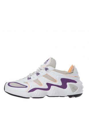 adidas Originals FYW S-97 Trainers | EE5303 White / Orange / Purple / Black