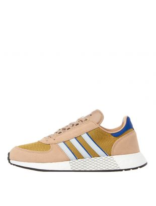 adidas originals marathon tech trainers EE4916 beige