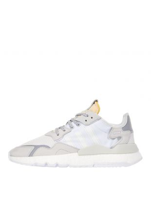 adidas Nite Jogger Trainers |  EE5855 Cream / White