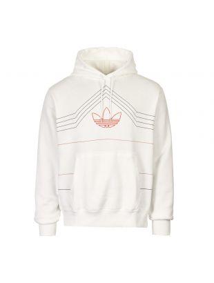 adidas originals hoodie DV3102 white