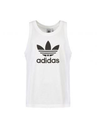adidas Originals Trefoil Vest DV1508 in White