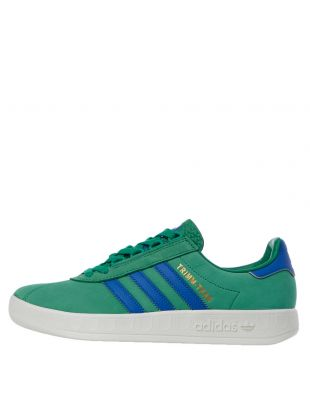 adidas Originals Trimm Trab Trainers | EE5742 Green / Blue