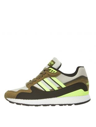 adidas Originals Ultra Tech Trainers BD7937 White/Yellow/Khaki