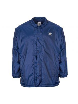 adidas Originals Winter Coach Jacket DH5787 Navy