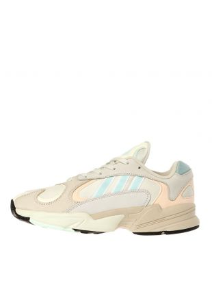 adidas Yung 1 Trainers CG7118 Off White / Ice Mint