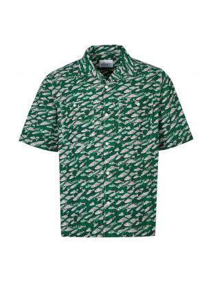 Albam Short Sleeve Shirt | ALM511487219 063 Green