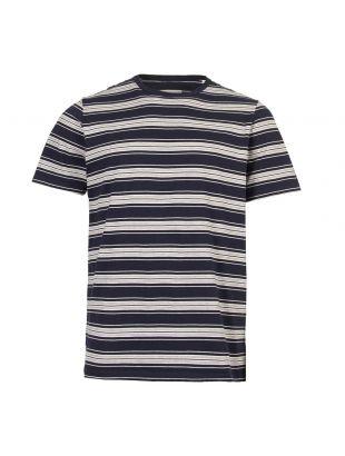 albam t-shirt vintage stripe ALM611372119 002 navy / grey