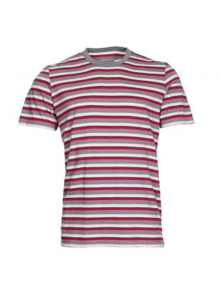 Albam Stripe T-Shirt | ALM611240218 050 Pink