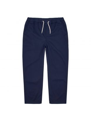albam trent drawstring trousers ALM711429219 002 navy