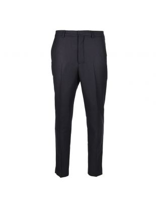 Ami Carrot Fit Trousers E17T03200-410 in Navy