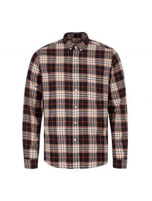 Ami Shirt   H19C003 426 110 Black / Orange / White