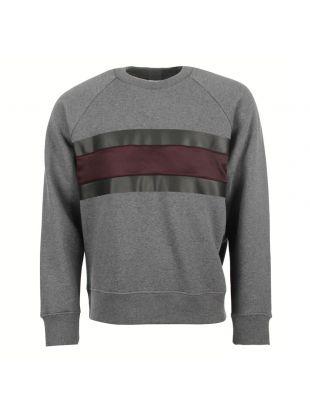ami sweatshirt H16J030.34 oversized grey