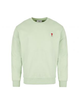 Ami Sweatshirt   H19 J007 730 302 Pale Green
