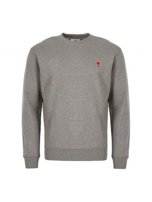 Ami Sweatshirt   H19J007 730 055 Grey