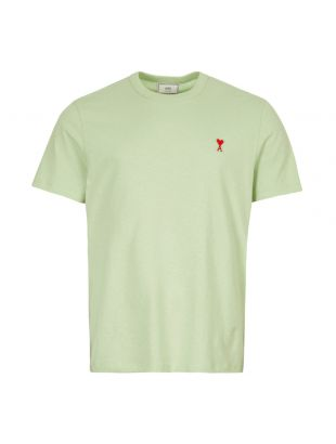 Ami T-Shirt H19J1108 720 302 In Pale Green