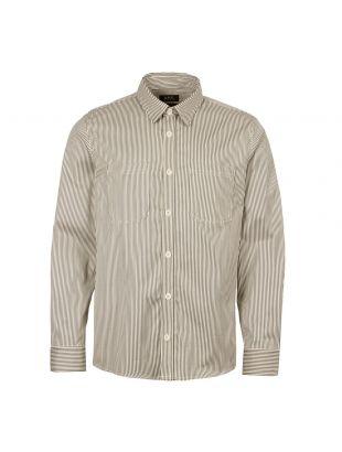APC Overshirt David COCWI H02550 LAA Grey Stripe