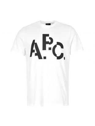 APC T-Shirt Logo CODCS H26829 AAB White