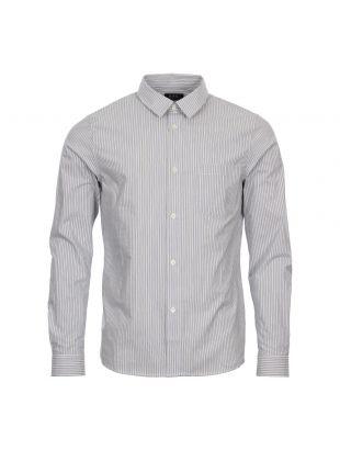 APC Shirt Franklin COCID H12290 Blue / Ecru Stripe