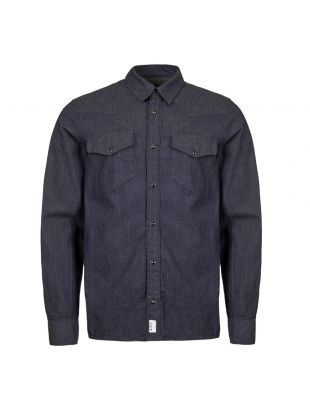 APC Shirt Woody COCWT H12399 IAL Indigo